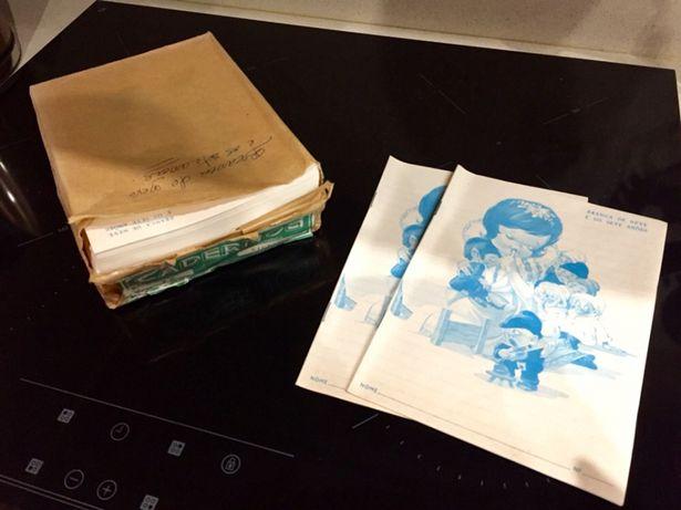Cadernos antigos