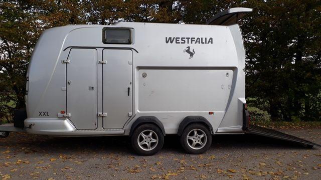 Przyczepa Westfalia Jupiter XXL do przewozu koni
