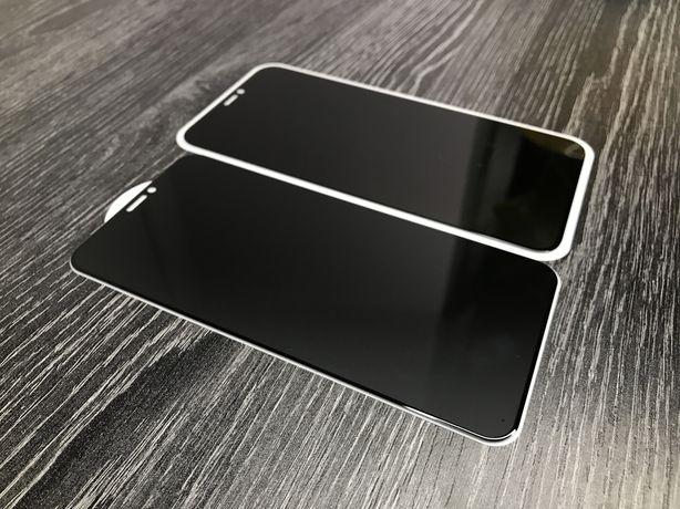 Захисне скло та скло Антишпіон iphone 6/6s/7/7+/8/8+/X/XS матове