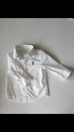 Koszula Next chrzest rozmiar 62-68