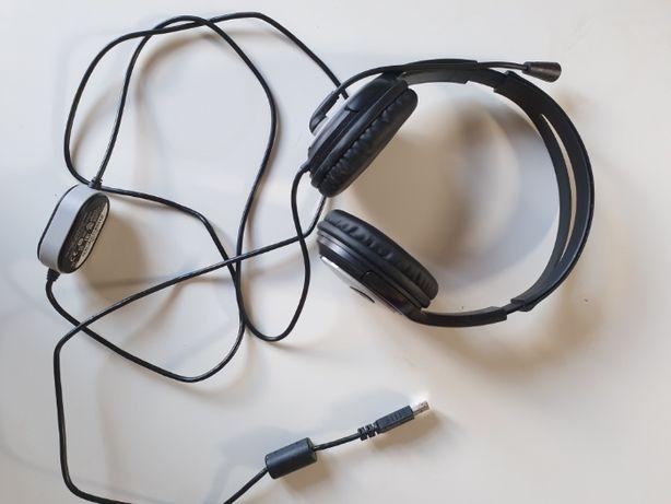 Słuchawki Microsoft LifeChat LX-3000 (czarne) USB
