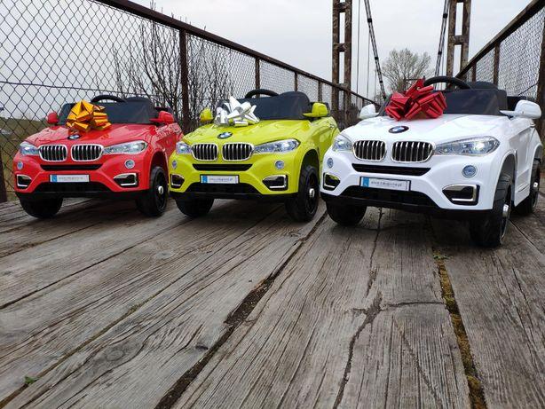BMW X6 auto samochód na akumulator NOWE! Pilot mp3 światła autko