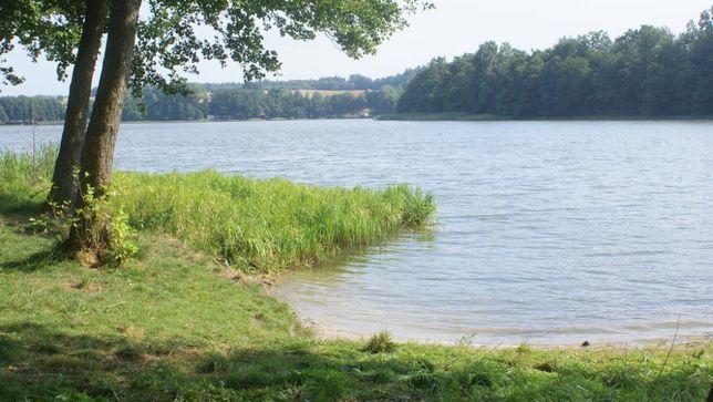 Działka nad jeziorem  linia brzegowa  wynajem dzierżawa