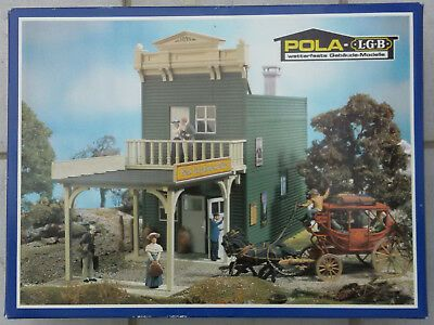 Skala G Wells Fargo Express Office bank/dworzec. Diorama Piko LgB