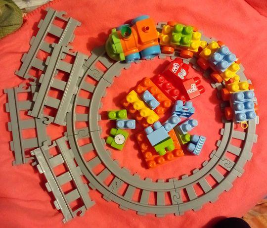 Конструктор детский ЖД вокзал