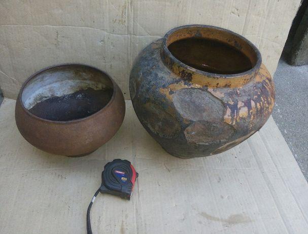 СССР для декора интерьера чугунок баняк горшок глиняный для запекания