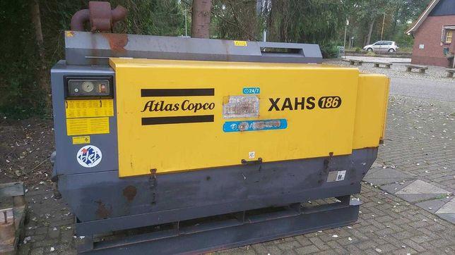 Kompresor Sprężarka Atlas Copco XAHS 186 Rok prod 2010 z Niemiec