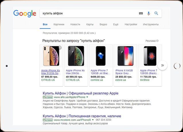 Google Shopping настройка Гугл шоппинг для интернет магазина