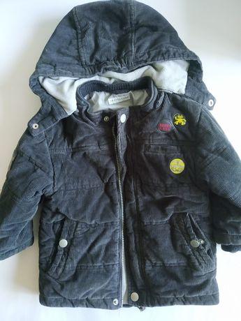 Зимняя куртка на ребенка рост 92-94 см.