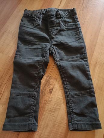 Spodnie dżinsowe z elastanem H&M r. 92