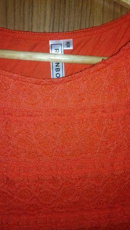 Sukienka pomaranczowa 38 40