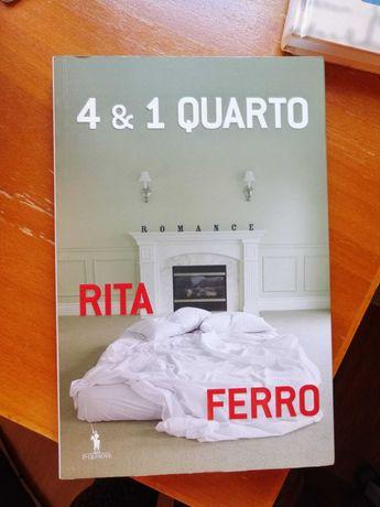 """Livro """"4 & 1 Quarto"""", de Rita Ferro"""