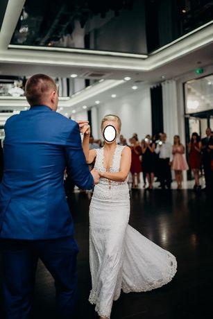 Suknia ślubna BERTA BRIDAL koronka