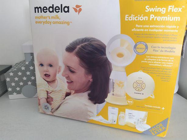 Bomba Medela Swing Flex Premium com extras
