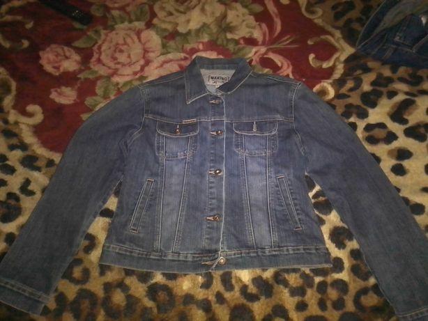 куртка джинсовая