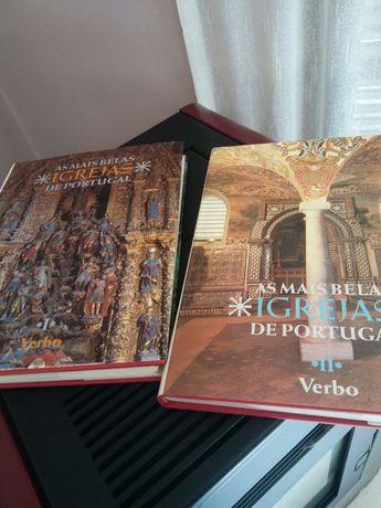 As mais belas Igrejas de Portugal ( volumes I e II )