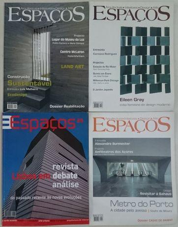 Revistas de Arquitectura – Espaços / a-Arquitectura e Vida