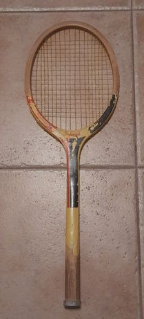 Rakieta do tenisa ziemnego Professional PRL stara drewniana