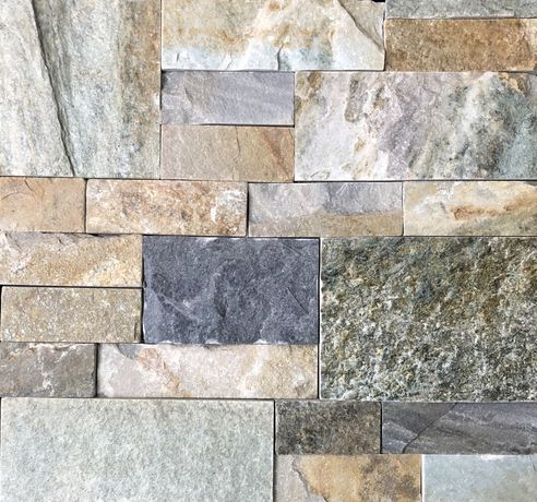 Природній Камінь, Натуральний Камінь, Мультиколір, Сланець