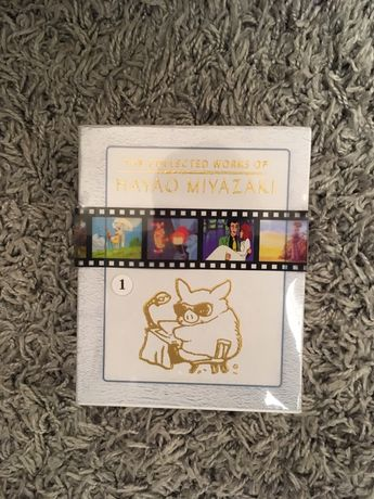 Kolekcja hayao miyazaki Disney blu ray 11 filmów ghibli