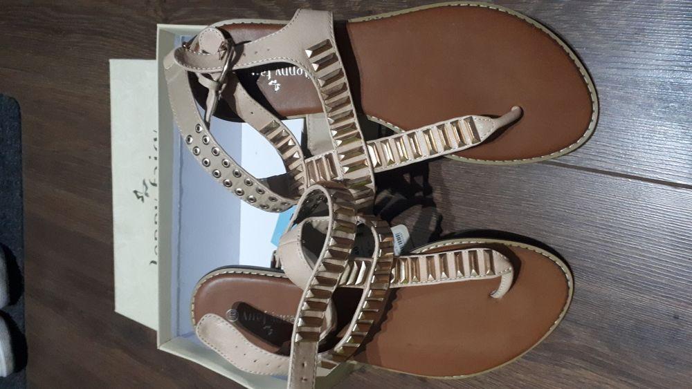 Japonki Jenny fair r. 40, klapki sandały Toruń - image 1