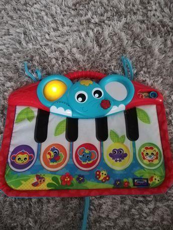 Zabawka pianino, przywieszka do łóżeczka