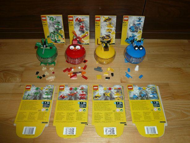 Lego 4346, 4347, 4348, 4349. Unikat! Jak NOWE!