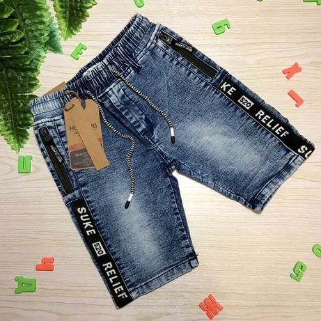 Стильные шорты джинсовые 134-140-146-152-158-164