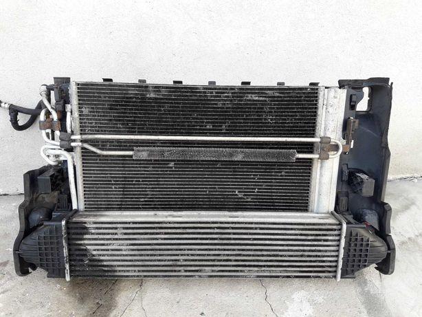 Chłodnica volvo s80 v70 XC70 V60 xc60 s60 komplet 2,4 d5 t5 chłodnice
