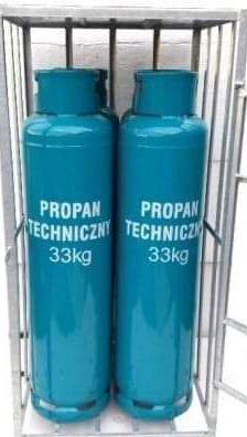 Butle gazowe 33 kg, butla gazowa 33 kg, dostawa gazu,  ogrzewanie