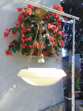 Art deco żyrandol,ampla,lampa,klosz marmurek