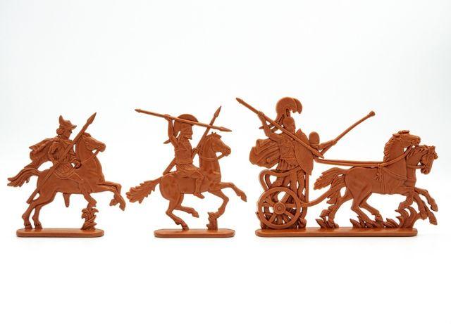 Солдатики Эллада колесница и всадники