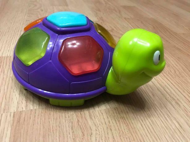 Музыкальная игрушка Черепаха со световыми эффектами