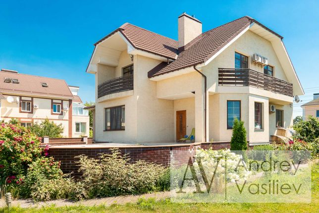 Продам дом 350м2 Евро Ремонт Участок 15 соток Чайки Белогородка БЕЗ%