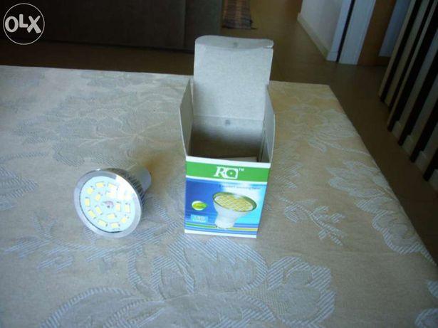 Lâmpada led GU 10 - 7 volts - nova