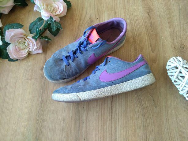 Nike sportowe damskie buty adidasy 38 dziewczęce skórzane