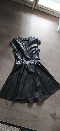 Плаття еко шкіра