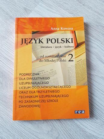 "Książka "" język Polski od romantyzmu do Młodej Polski 2"""