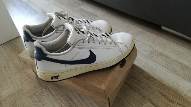 Nike buty sportowe biały, granatowy
