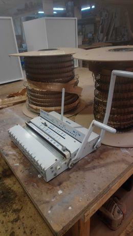 Maquina de encadernar por arame duplo . Oferta duas bobines