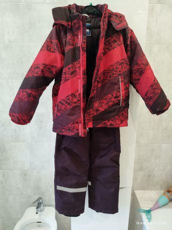 Зимний комплект (куртка + полукомбинезон) Lassie 128 см