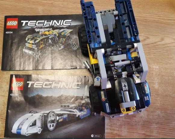 Klocki Lego Technic 42043 i 42044