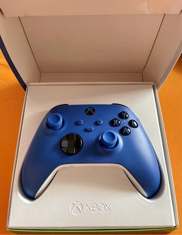 NOWY Pad Xbox Series S / X Niebieski Shock Blue One Kontroler WARTO