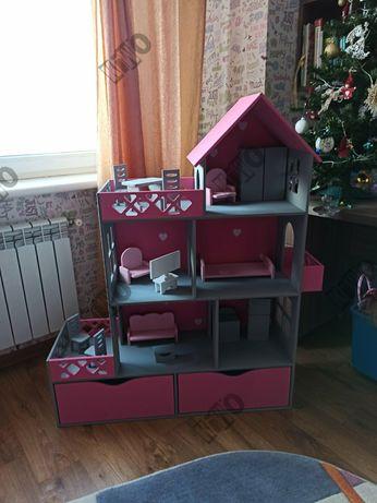 АКЦИЯ! Кукольный домик, ящики для хранения, Barbie, Lol