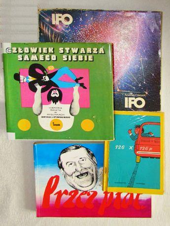 Humor w rysunkach znanych satyryków - 14 albumików