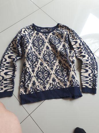 Swetr w ornamenty M