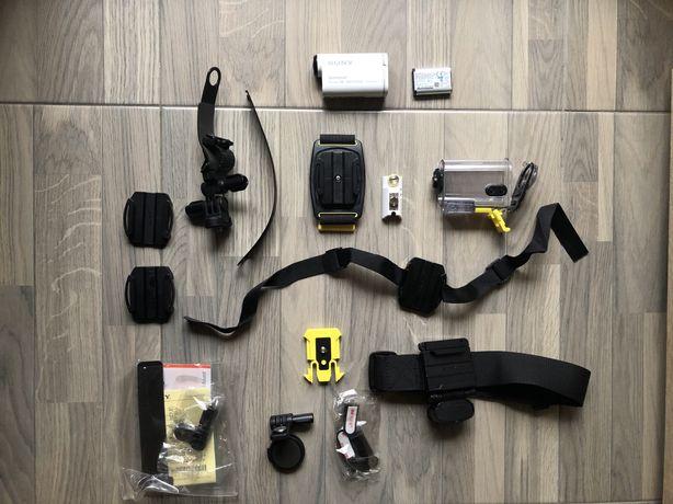 Sony AS100V, obiektyw Zeiss, HDR, WiFi, GPS, k.wodoszczelna, sportowa