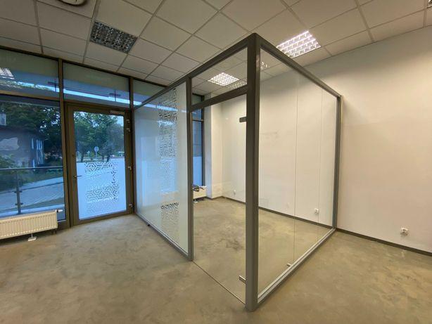 Szklane ścianki działowe (szklana zabudowa)