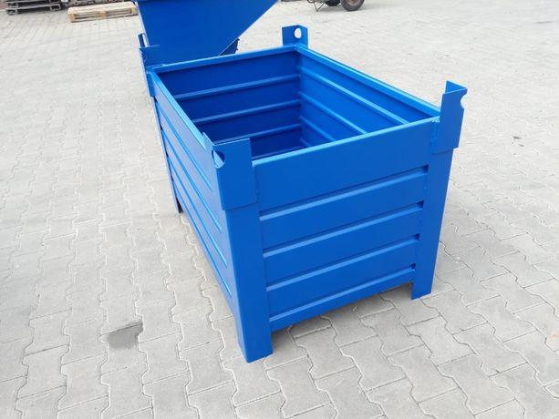 Idealny pojemnik dla każdej firmy, nośność 1 tona, 700 litrów
