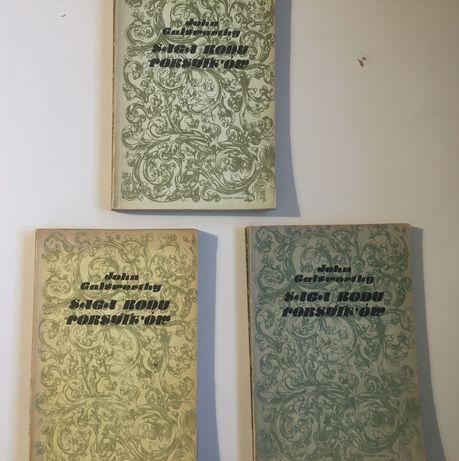 Saga rodu forsyte'ów John galsworthy książka powieść rodzinna